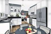 Cottage Style House Plan - 3 Beds 2 Baths 1260 Sq/Ft Plan #44-175 Interior - Kitchen
