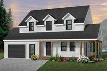 Home Plan - Farmhouse Exterior - Front Elevation Plan #23-278