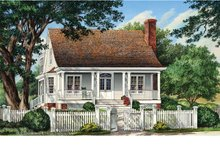 Traditional Exterior - Front Elevation Plan #137-358