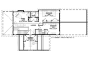 Country Style House Plan - 3 Beds 3.5 Baths 2963 Sq/Ft Plan #928-278 Floor Plan - Upper Floor Plan