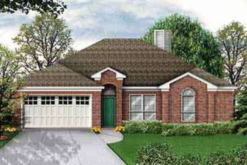 House Design - Traditional Exterior - Front Elevation Plan #84-209