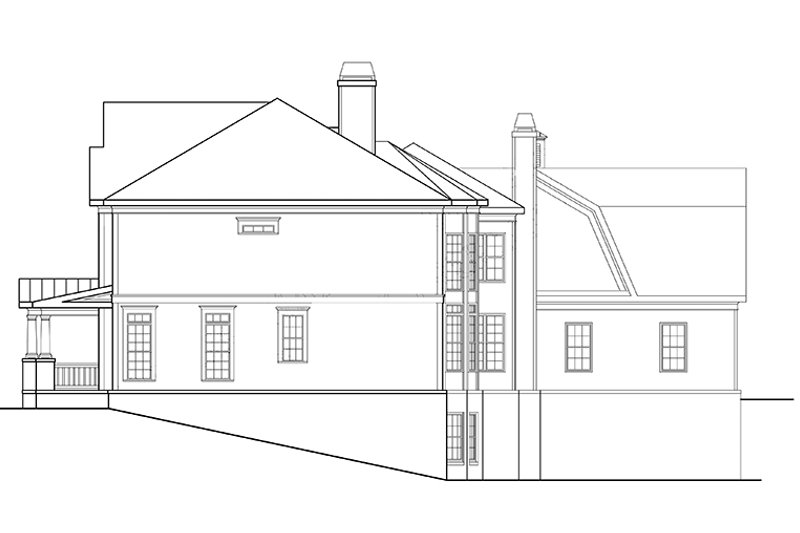 Classical Exterior - Other Elevation Plan #927-845 - Houseplans.com