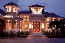 Dream House Plan - Mediterranean Exterior - Front Elevation Plan #930-194