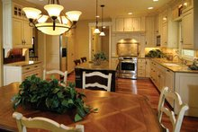 Craftsman Interior - Kitchen Plan #928-91