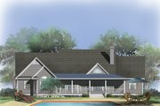 Farmhouse Style House Plan - 4 Beds 2 Baths 1965 Sq/Ft Plan #929-727 Exterior - Rear Elevation