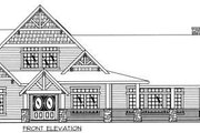 Bungalow Style House Plan - 4 Beds 4.5 Baths 4013 Sq/Ft Plan #117-581 Exterior - Other Elevation