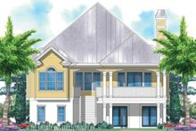 Country Exterior - Rear Elevation Plan #930-159