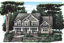 Craftsman Exterior - Front Elevation Plan #927-263