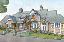 Country Exterior - Front Elevation Plan #928-264