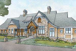 Dream House Plan - Country Exterior - Front Elevation Plan #928-264