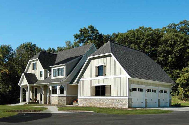 Craftsman Exterior - Front Elevation Plan #928-172 - Houseplans.com