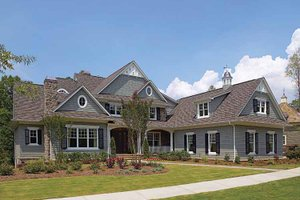 House Design - Craftsman Exterior - Front Elevation Plan #453-459