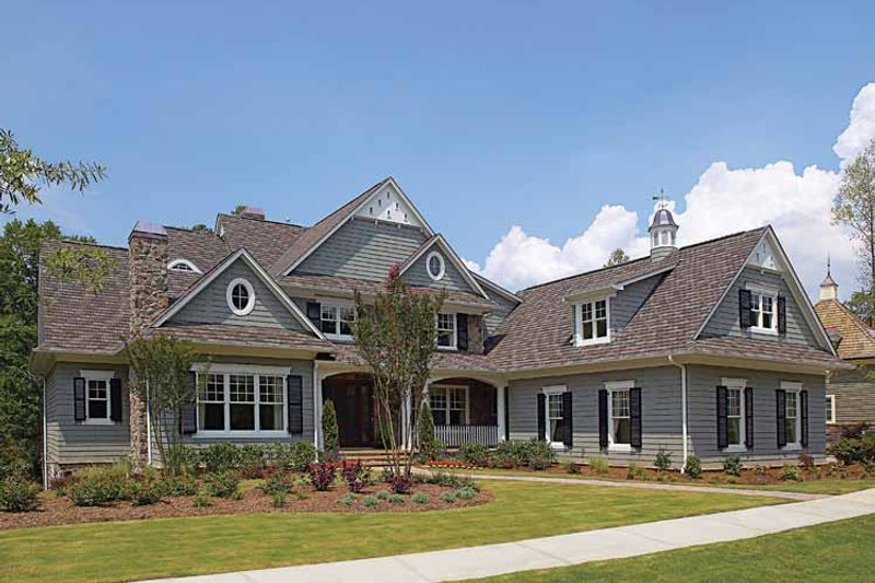 Craftsman Exterior - Front Elevation Plan #453-459