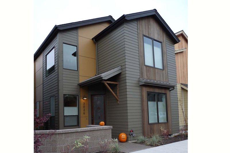 Dream House Plan - Modern Exterior - Front Elevation Plan #124-922