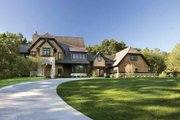 Craftsman Style House Plan - 4 Beds 3.5 Baths 4968 Sq/Ft Plan #928-32 Exterior - Front Elevation
