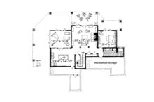 Craftsman Floor Plan - Lower Floor Plan Plan #942-30