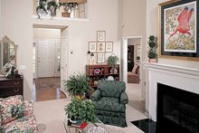 Country Interior - Family Room Plan #929-221