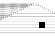 Craftsman Exterior - Other Elevation Plan #943-43