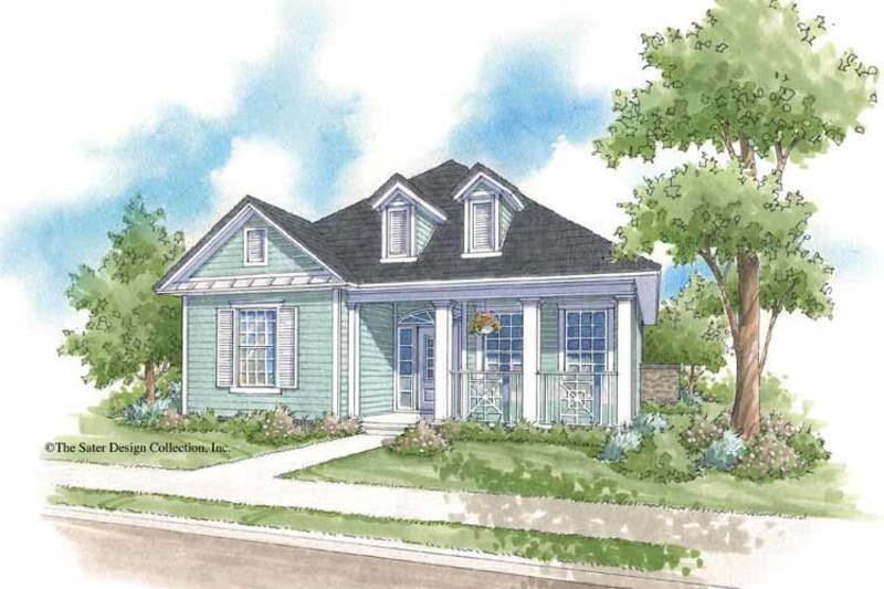 Country Exterior - Front Elevation Plan #930-397 - Houseplans.com