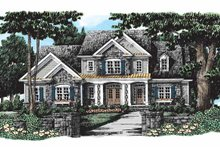 Home Plan - Country Exterior - Front Elevation Plan #927-278