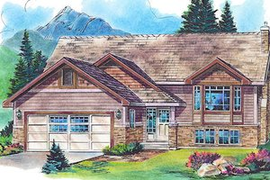 Traditional Exterior - Front Elevation Plan #18-4519