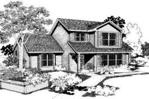 Traditional Exterior - Front Elevation Plan #303-106