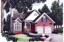 House Plan Design - Country Exterior - Front Elevation Plan #927-563