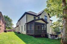 House Plan Design - European Exterior - Rear Elevation Plan #927-362