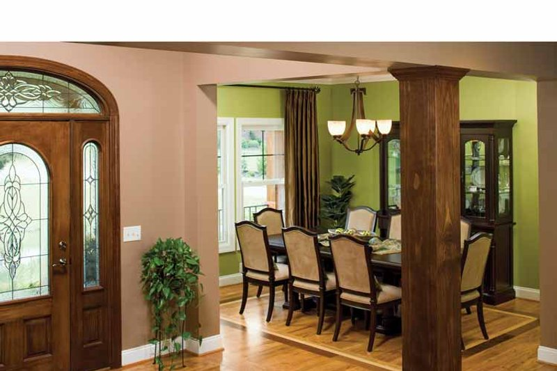 Craftsman Interior - Dining Room Plan #929-422 - Houseplans.com