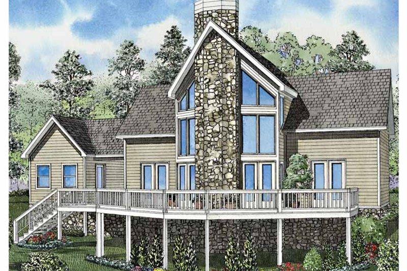 Contemporary Exterior - Front Elevation Plan #17-3130 - Houseplans.com
