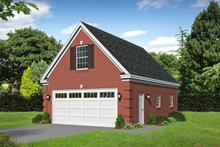 Dream House Plan - Country Exterior - Front Elevation Plan #932-283