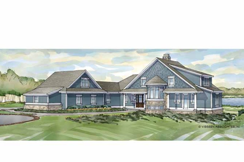 Traditional Exterior - Front Elevation Plan #928-236 - Houseplans.com