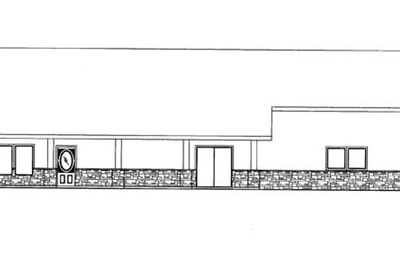 Contemporary Exterior - Front Elevation Plan #117-855 - Houseplans.com