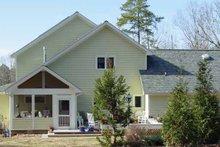 House Plan Design - Craftsman Exterior - Rear Elevation Plan #939-1