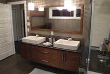 Dream House Plan - Master Bathroom - 1850 square foot modern home