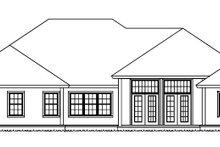 House Plan Design - Ranch Exterior - Rear Elevation Plan #513-2159