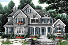 Dream House Plan - Country Exterior - Front Elevation Plan #927-883