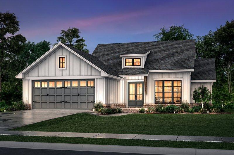 House Plan Design - Farmhouse Exterior - Front Elevation Plan #430-253