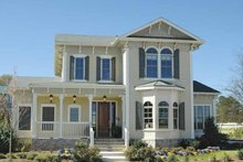 House Plan Design - Traditional Exterior - Front Elevation Plan #54-315