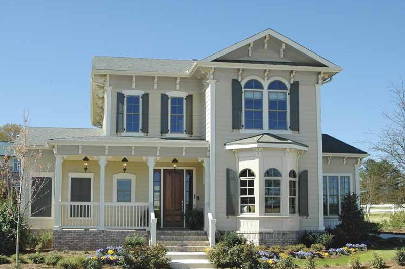 Home Plan - Traditional Exterior - Front Elevation Plan #54-315