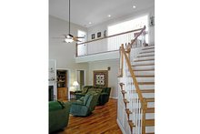 Country Interior - Family Room Plan #314-281