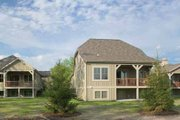 Traditional Style House Plan - 2 Beds 2.5 Baths 1911 Sq/Ft Plan #928-111 Exterior - Rear Elevation