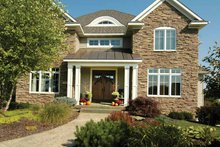 Home Plan - European Exterior - Front Elevation Plan #928-101