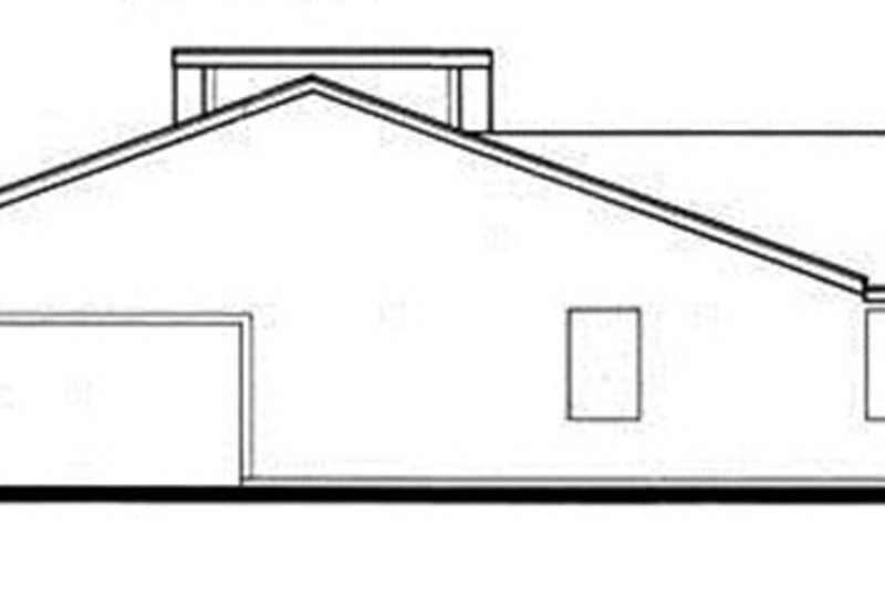 Contemporary Exterior - Other Elevation Plan #30-335 - Houseplans.com