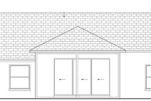 Home Plan - Mediterranean Exterior - Rear Elevation Plan #1058-34