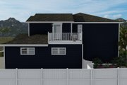 Craftsman Style House Plan - 4 Beds 2.5 Baths 2313 Sq/Ft Plan #1060-66 Exterior - Other Elevation