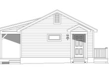 Dream House Plan - Cabin Exterior - Rear Elevation Plan #932-107