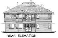 Ranch Exterior - Rear Elevation Plan #18-178