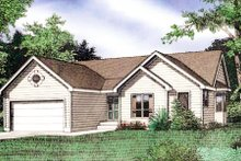 Dream House Plan - Traditional Exterior - Front Elevation Plan #405-156
