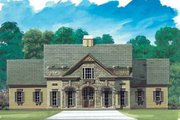 European Style House Plan - 3 Beds 3 Baths 2594 Sq/Ft Plan #119-151 Exterior - Front Elevation